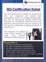 iso certification dubai