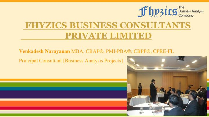 fhyzics business consultants private limited n.