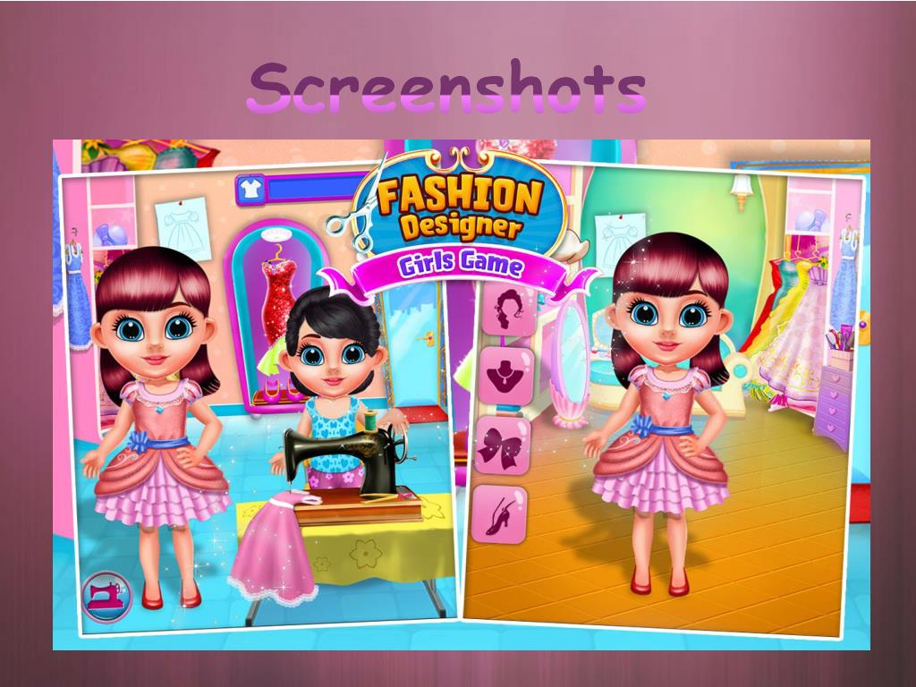 Ppt Fashion Designer Girls Games Powerpoint Presentation Free Download Id 7199101