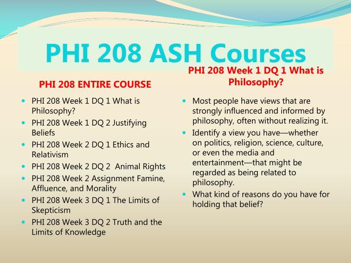 Phi 208 ash courses1