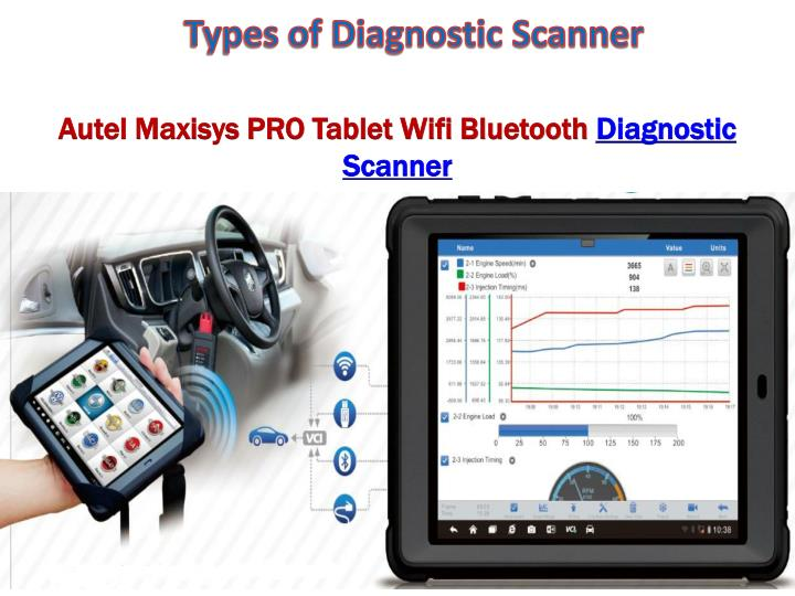 Types of Diagnostic Scanner