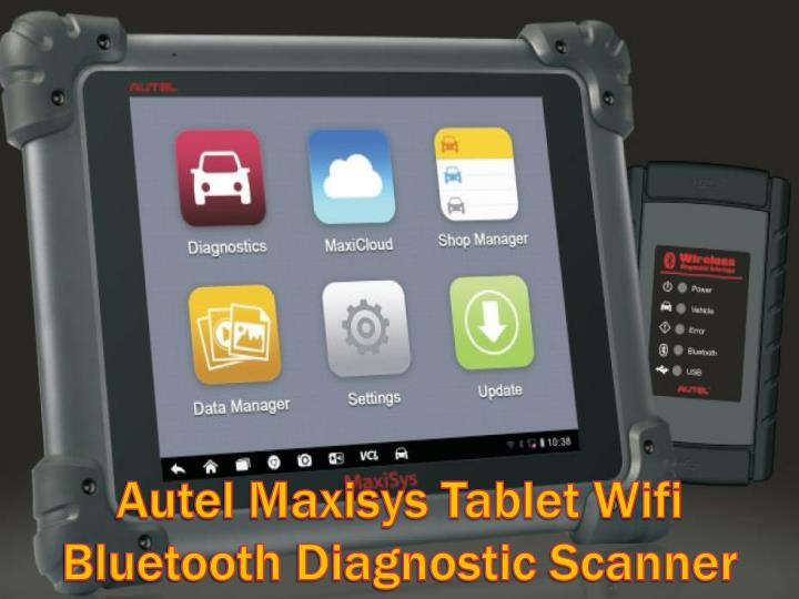 Autel Maxisys Tablet Wifi Bluetooth Diagnostic Scanner