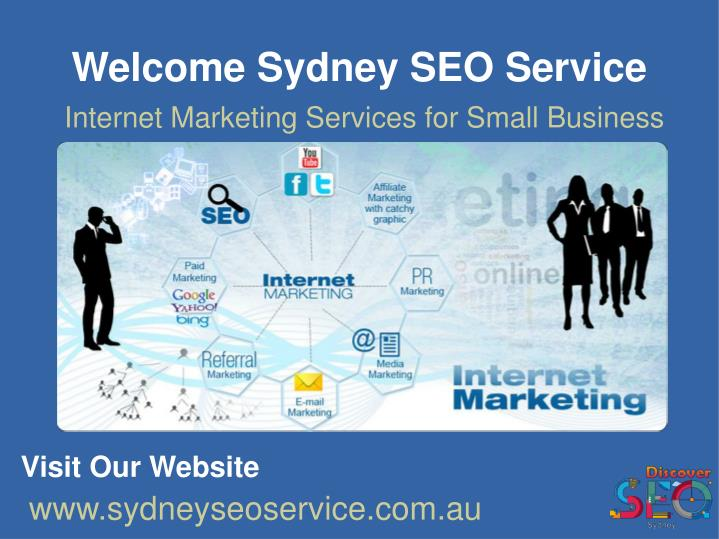 Internet marketing services for small business