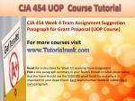 bus 630 ash course tutorial13