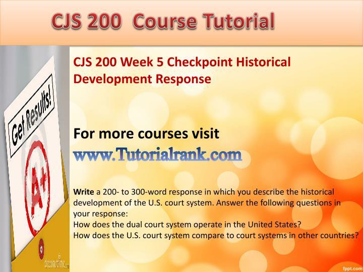historical development response