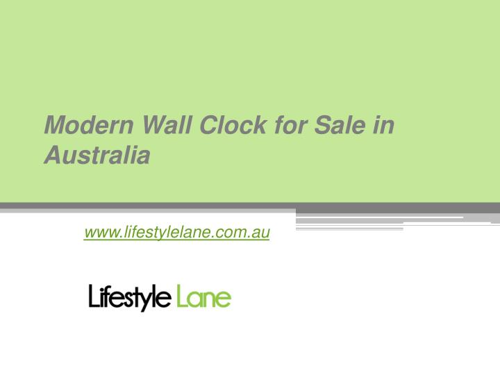 modern wall clock for sale in australia n.