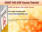 bus 630 ash course tutorial11