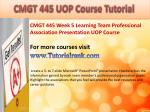 bus 630 ash course tutorial17