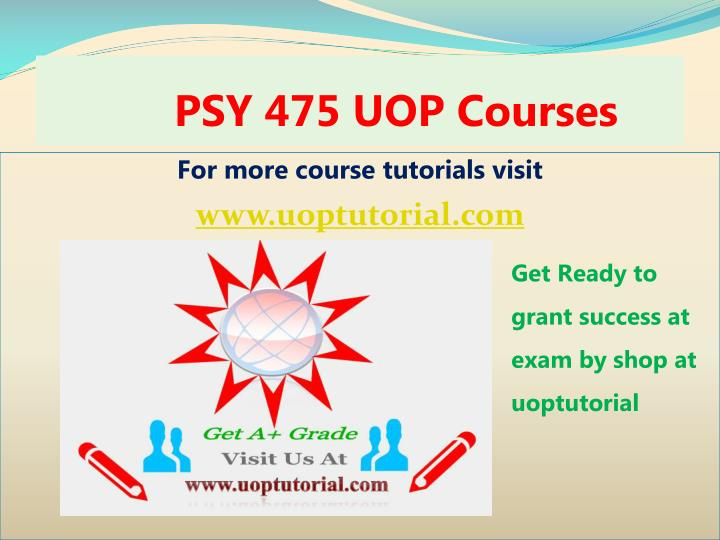 psy 475 uop courses n.