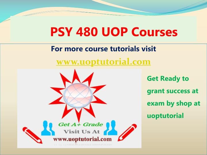 psy 480 uop courses n.
