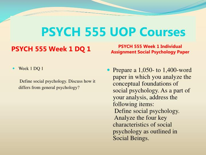 an analysis of psych paper View essay - psych 610 analysis of ethical dilemma week2 from psych 625 at university of phoenix running head: analysis of ethical dilemma 1 analysis of ethical dilemma learning team b brooke.