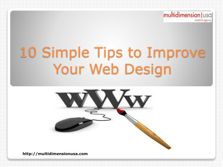 10 simple tips to improve your web design n.