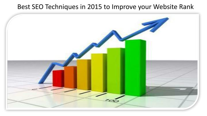 Best SEO Techniques in 2015 to Improve