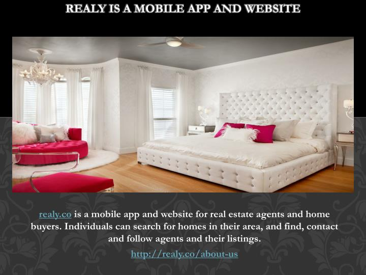 realy is a mobile app and website n.