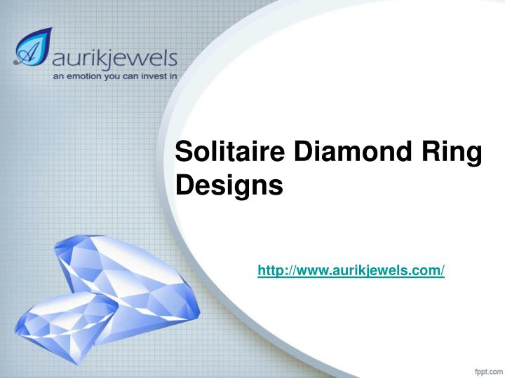 solitaire diamond ring designs n.