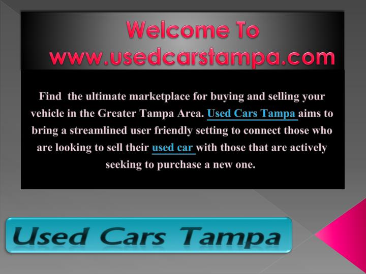 welcome to www usedcarstampa com n.
