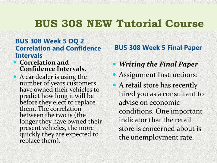 bus 308 week 2 dq 2 Bus 308 week 2 dq 1 data set what conclusions can you draw from these tests about.