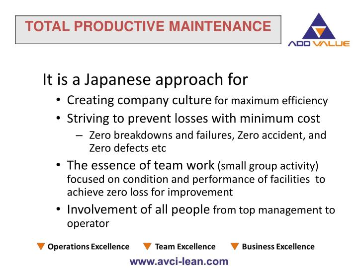 It is a Japanese approach for