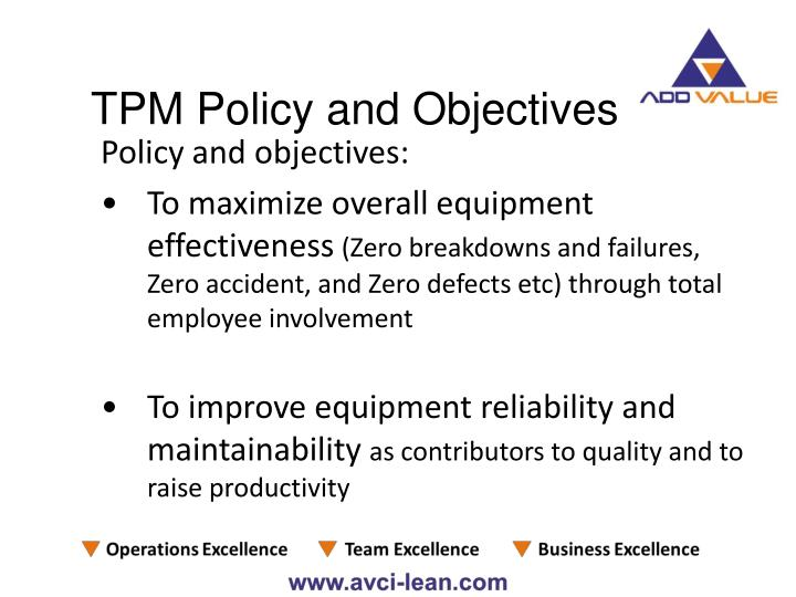 Policy and objectives: