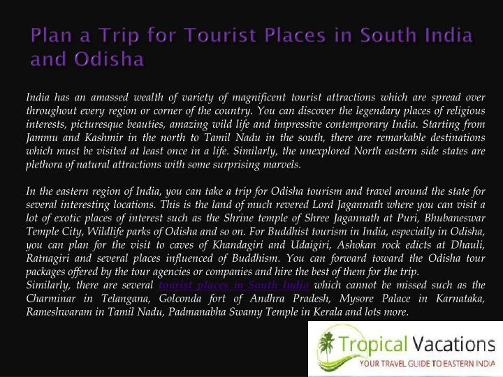 Ppt Tourist Places In South India Powerpoint Presentation Id 7202364