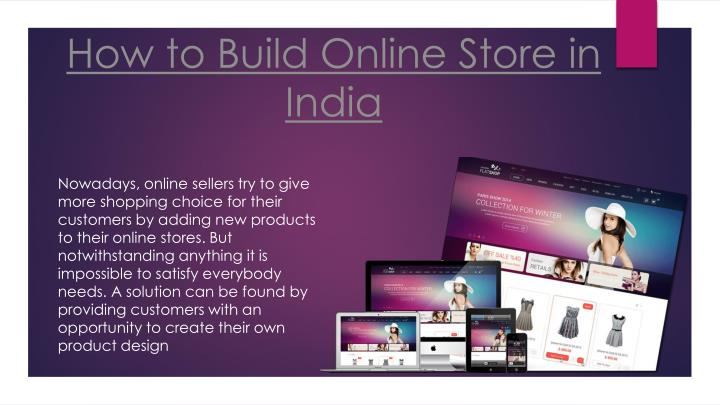 how to build online store in india n.