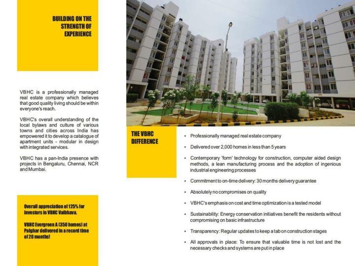 Vbhc palmhaven bangalore 2 bhk apartments by vbhc