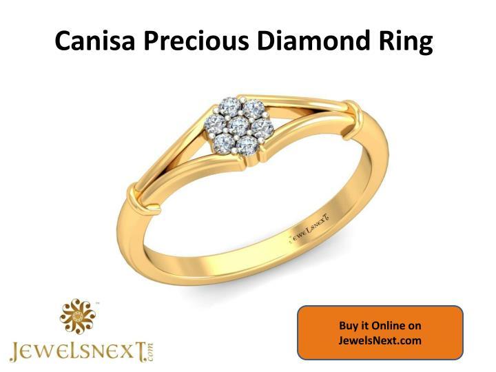 Canisa precious diamond ring