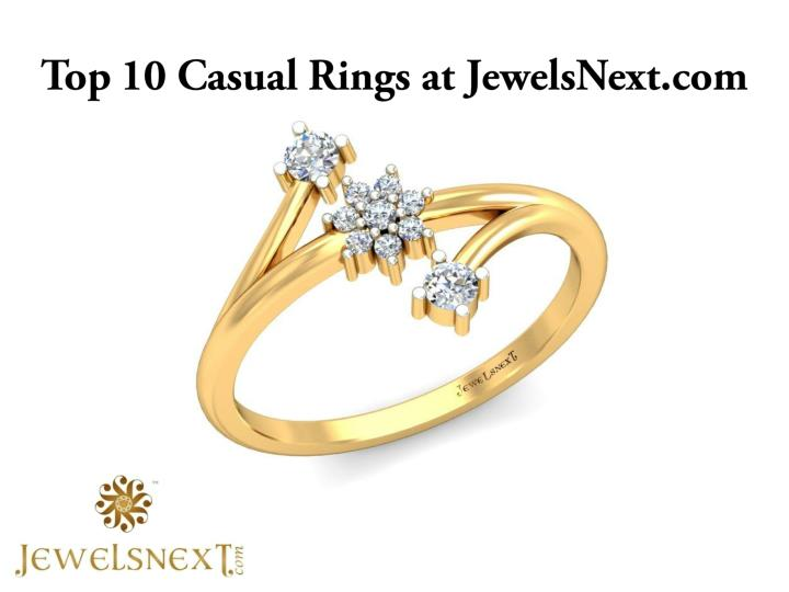 Top 10 casual rings at jewelsnext com