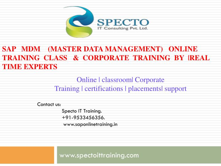 PPT - training classes on sap grc PowerPoint Presentation