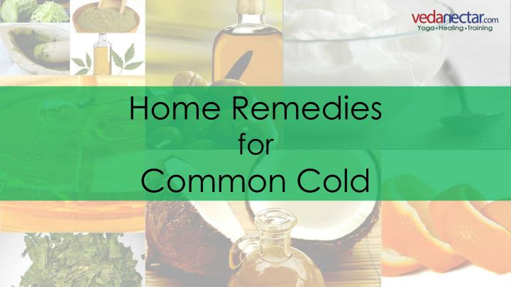 home remedies for common cold n.