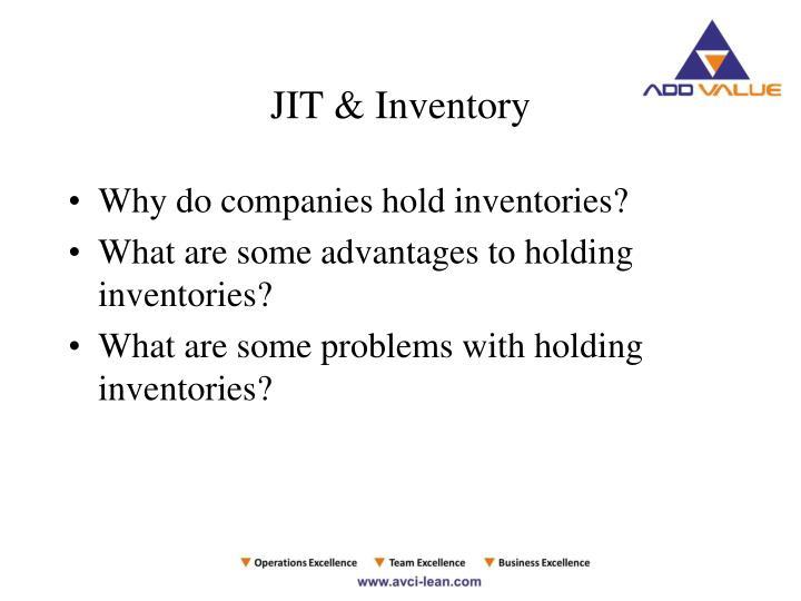 JIT & Inventory