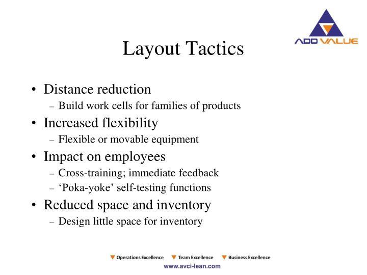 Layout Tactics