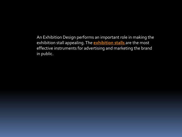 Exhibition Stall Presentation : Ppt exhibition stalls powerpoint presentation id