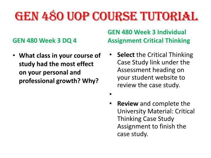 gen 480 case study assignment