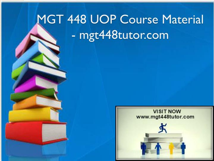 mgt 448 uop course material mgt448tutor com n.