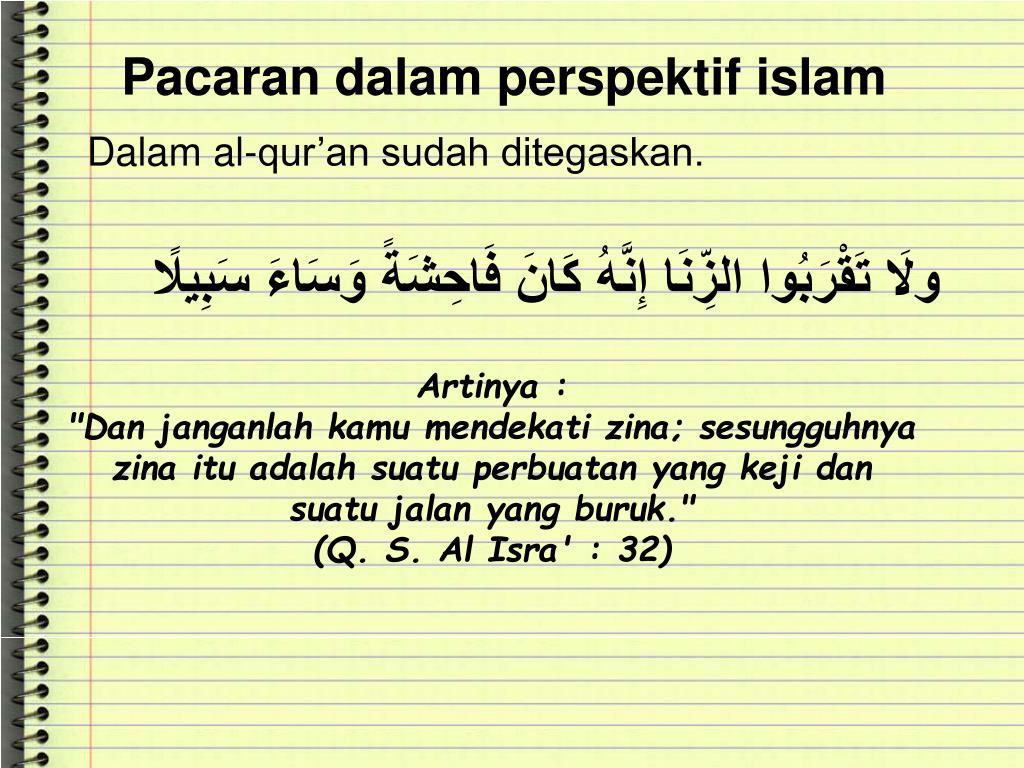Ppt Hukum Pergaulan Dan Pacaran Menurut Islam Powerpoint