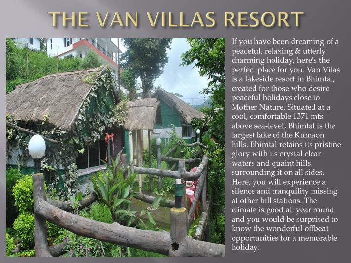 the van villas resort n.