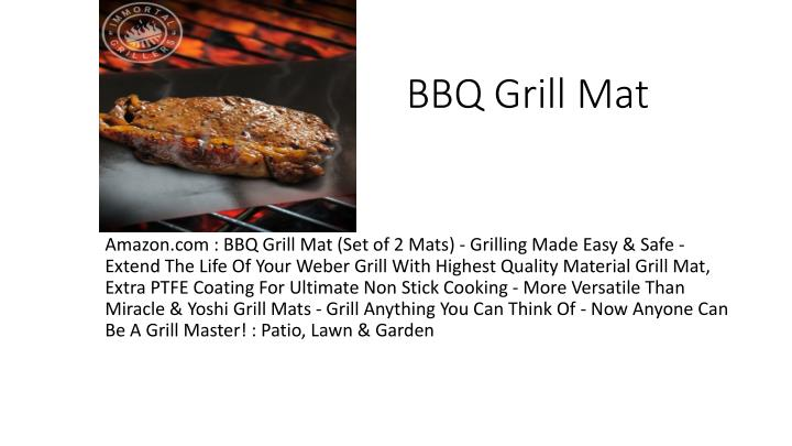 Ppt Bbq Grill Mat Powerpoint Presentation Free Download