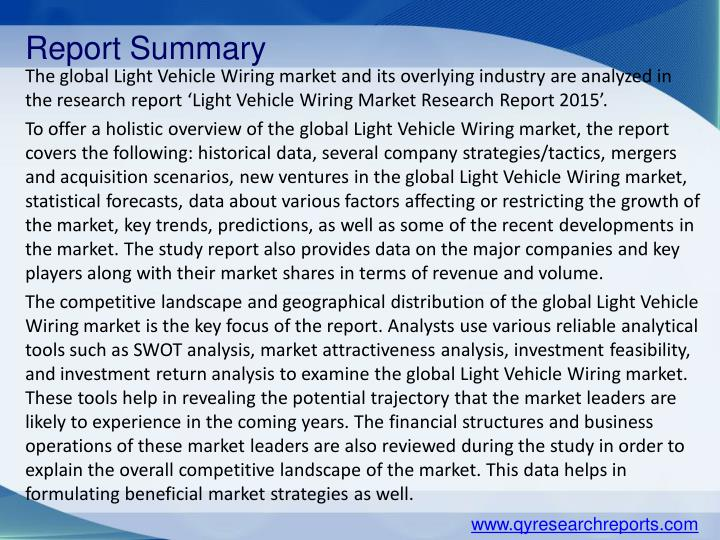 Report Summary