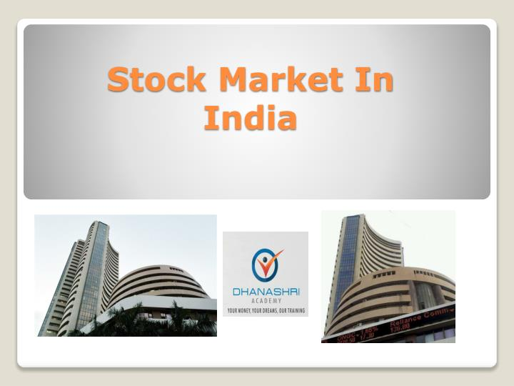 stock market in india n.