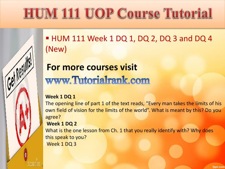 "hum111 week 8 Question assignment 2: project paper – comparative essay due week 8 and worth 200 points this ""assignment 2"" writing assignment is a comparative essay focused on topics encountered in our."