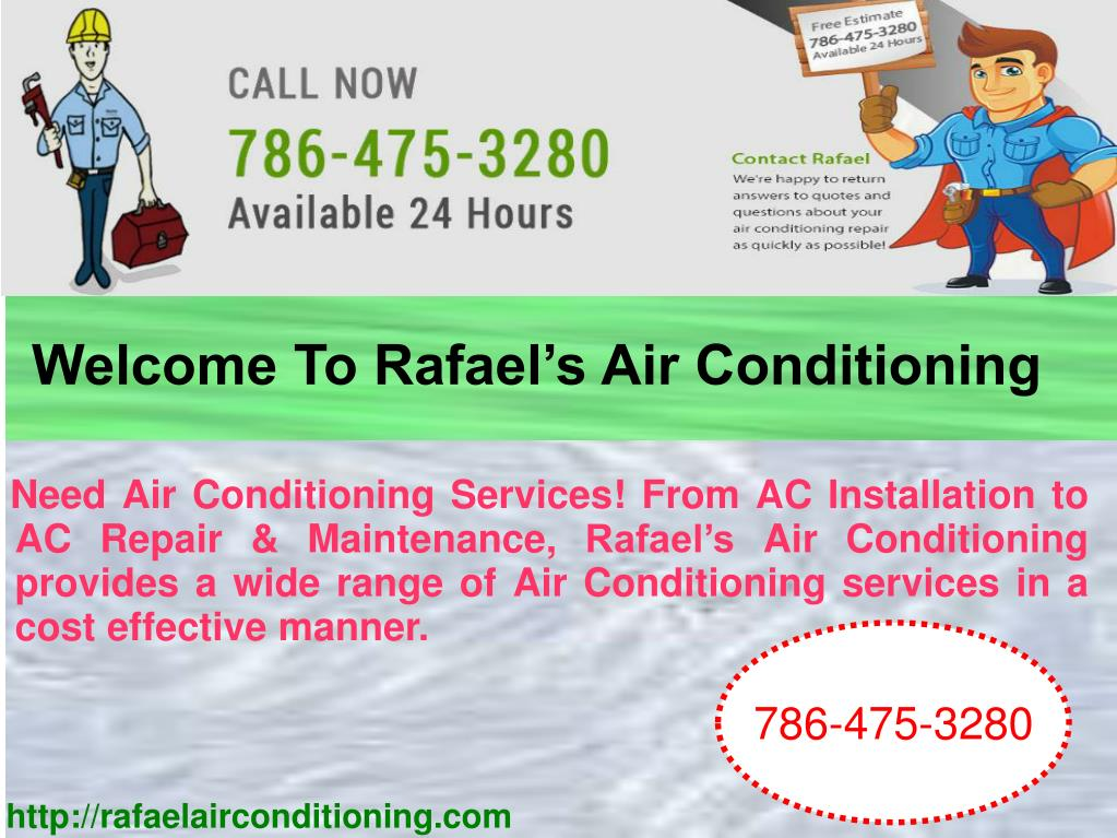 PPT - Welcome To Rafael's Air Conditioning PowerPoint