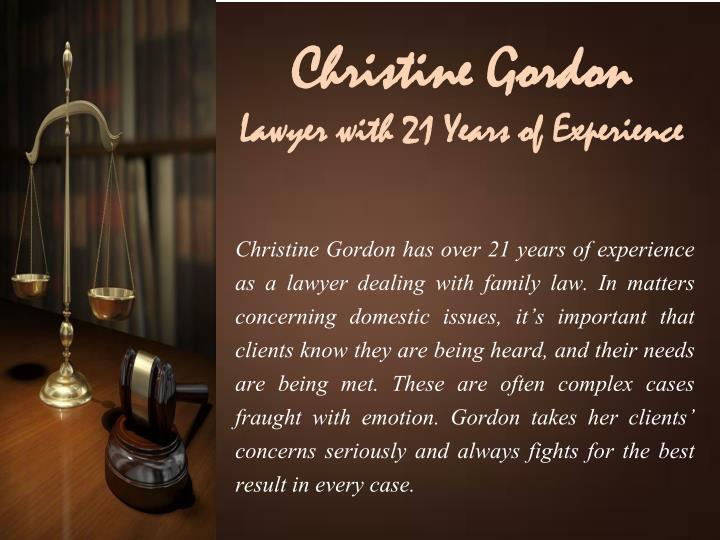 Christine Gordon