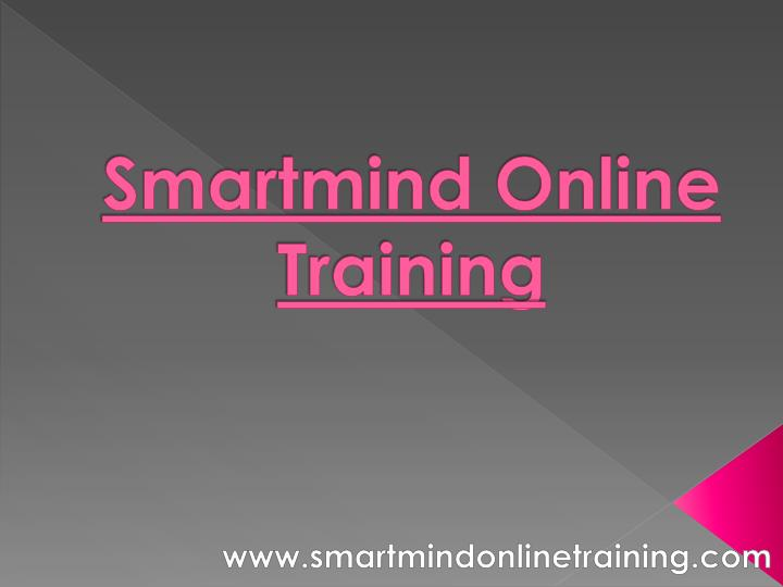 smartmind online training n.