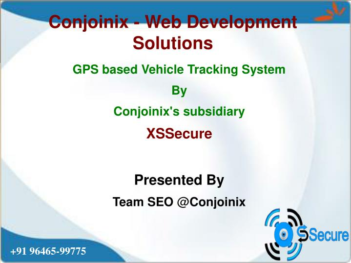 Ppt Gps Vehicle Tracking System Powerpoint Presentation