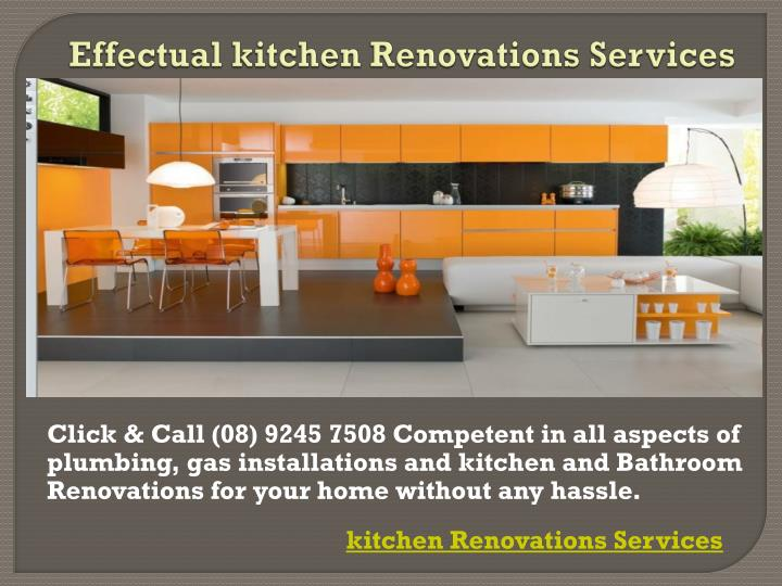 Effectual kitchen renovations services