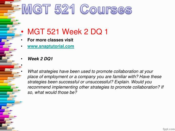 mgt 521 week 4