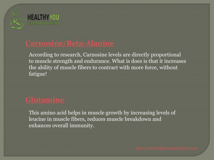 Carnosine/Beta-