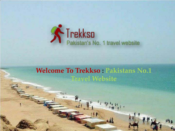 Welcome To Trekkso : Pakistans No.1