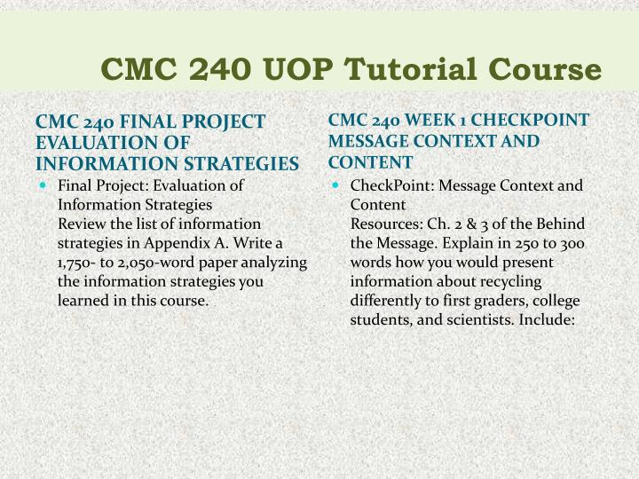 cmc 240 final project